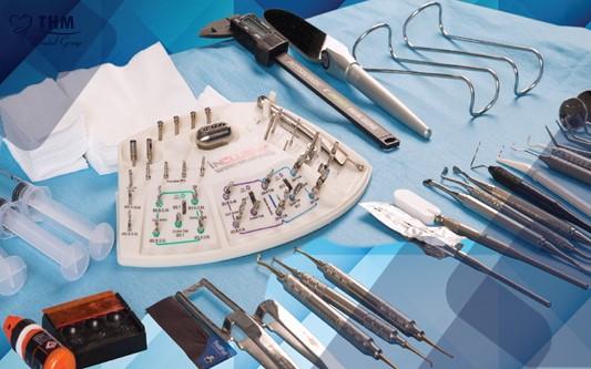 Bộ dụng cụ cấy ghép Implant và những điều cần biết