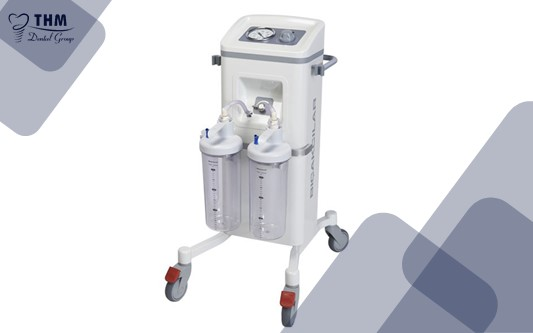 Một loại máy hút phổ biến cho nha khoa